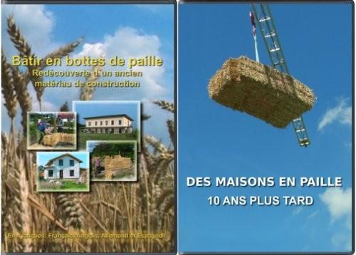 """Lot de Deux: """"Bâtir en bottes de paille"""" et """"Des Maisons en paille"""""""