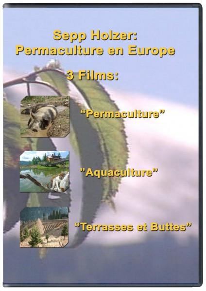SEPP HOLZER: PERMACULTURE EN EUROPE - DVD AVEC 3 FILMS